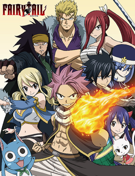 Ready for Action Fairy Tail Throw Blanket