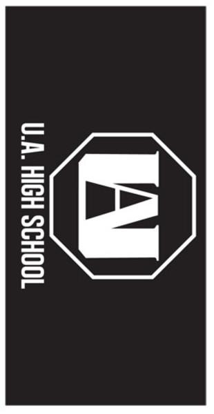 UA High School Logo My Hero Academia Towel