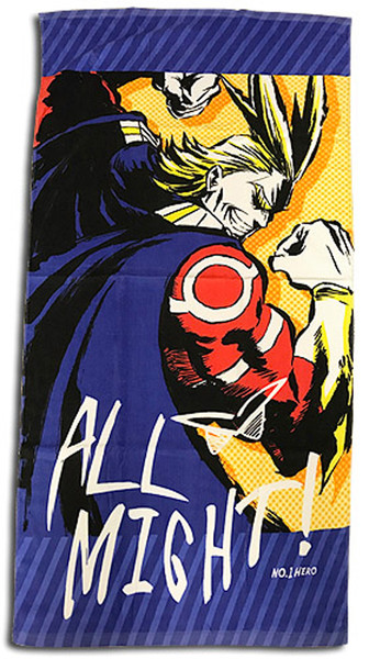 All Might My Hero Academia Towel
