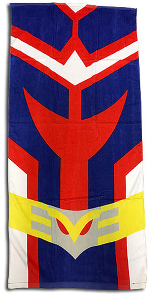All Might Uniform My Hero Academia Towel