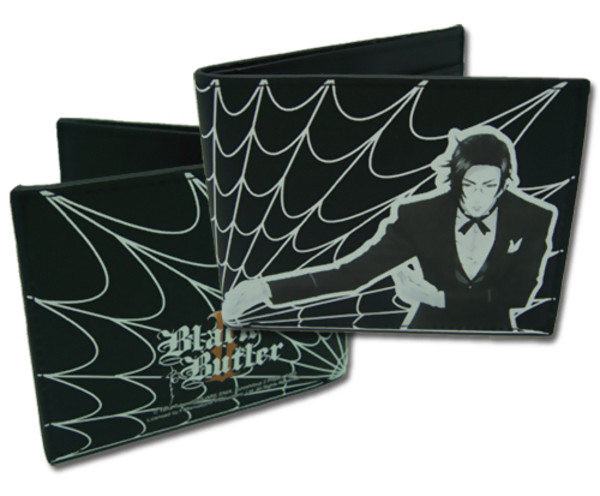 Claude and Spider Webs Black Butler Wallet