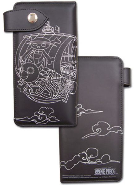 One Piece Wallet: Thousand Sunny Outline