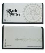 Pentacle on White Black Butler Wallet