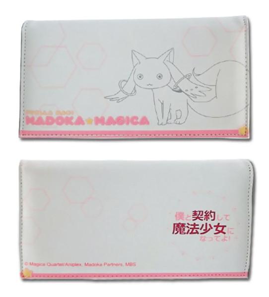 Kyubey Outline Puella Magi Madoka Magica Wallet
