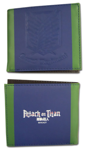 Survey Corps Insignia Attack on Titan Wallet