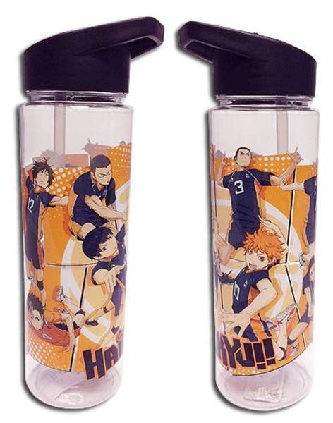 Keep the Ball In the Air Group Haikyu!! Water Bottle