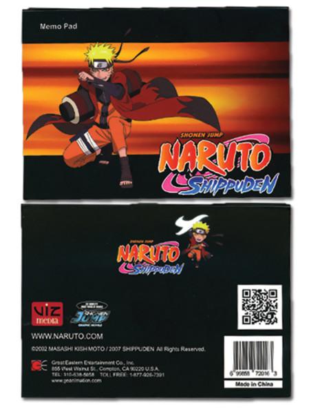 Naruto: Shippuden Memo Pad: Naruto