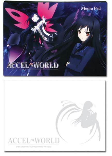 Kuroyukihime Accel World Memo Pad