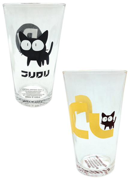 Takkun the Cat FLCL Drinking Glass Set