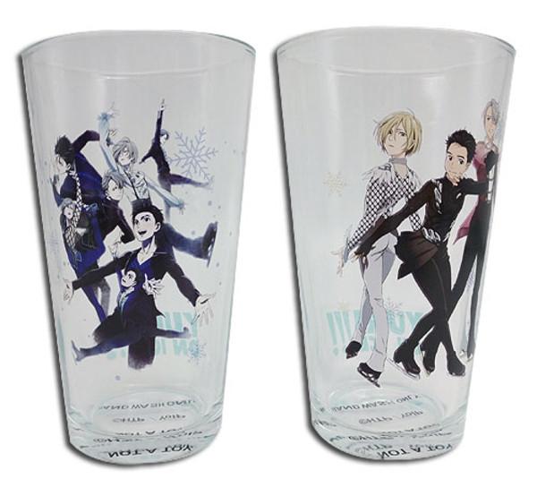 Magic On Ice Yuri!!! On ICE Drinking Glass Set