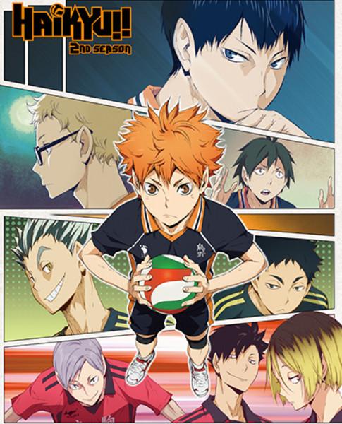 Teammate Collage Haikyu!! Throw Blanket