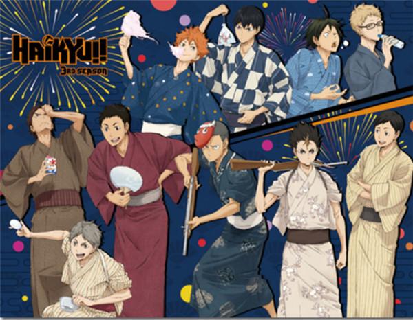 Summer Festival Haikyu!! Throw Blanket