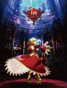 Saber Dance Fate/EXTRA Last Encore Throw Blanket
