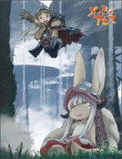 Riko Reg and Nanachi Made in Abyss Throw Blanket