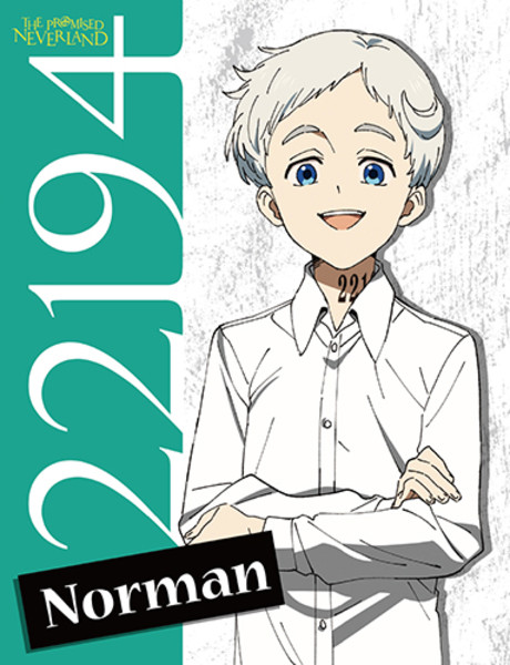 Norman The Promised Neverland Throw Blanket