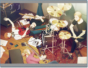 Band Rehearsal Given Throw Blanket