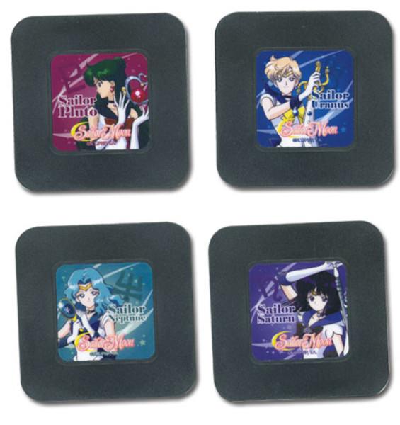 Outer Senshi Sailor Moon Coaster Set