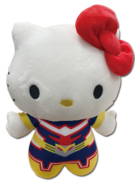 Hello Kitty x All Might My Hero Academia Crossover Plush