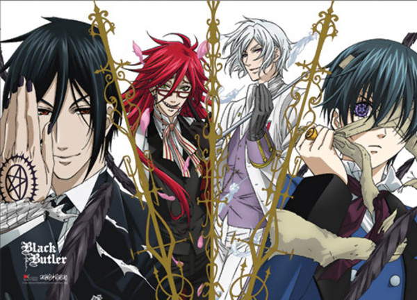 Group Black Butler Fabric Poster