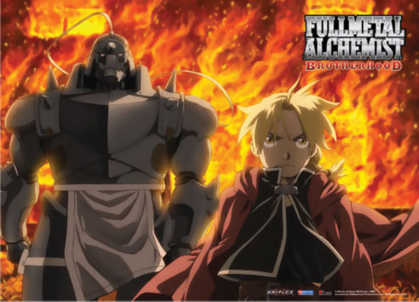 Burning Memo Fullmetal Alchemist Brotherhood Fabric Poster