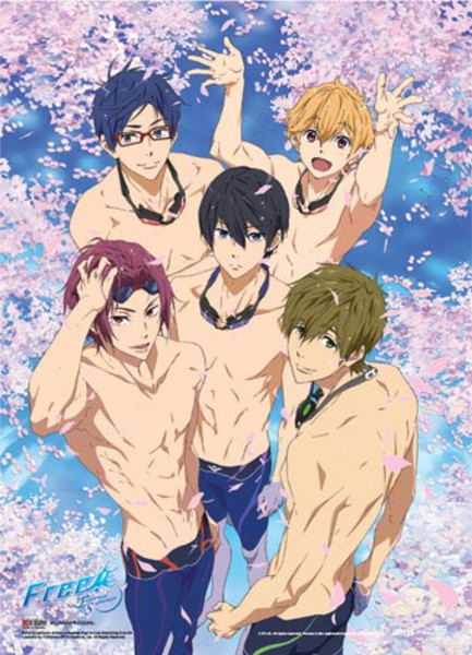 Sakura Pool Group Free Poster