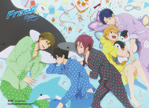 Slumber Party Free! Fabric Poster