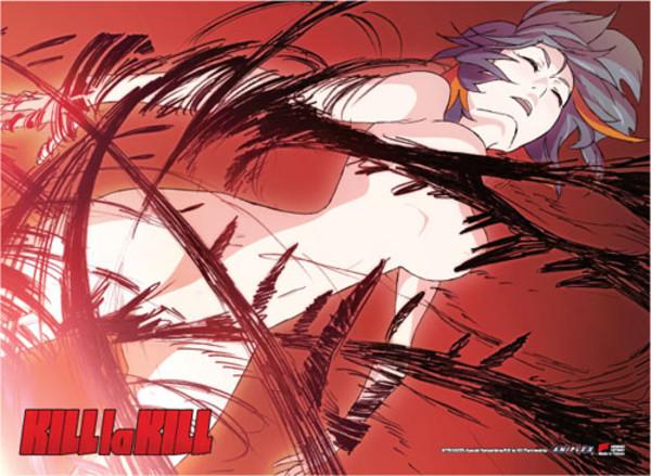 Kill la Kill Nude Ryuko Fabric Poster