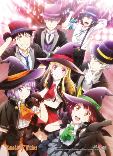 Group Yamada-kun and the Seven Witches Fabric Poster