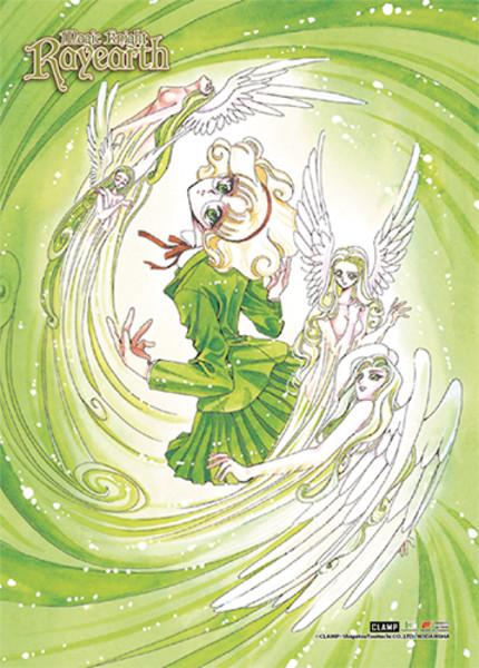Fuu Hououji Magic Knight Rayearth Fabric Poster
