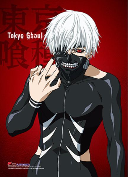 Kaneki Tokyo Ghoul Fabric Poster