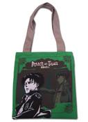 Levi Attack on Titan Tote Bag Green