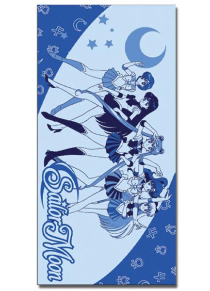 Sailor Moon Towel: Inner Senshi in Blue