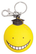 Yellow Koro-sensei Assassination Classroom PVC Keychain