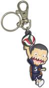 Ryunosuke Tanaka Haikyu!! PVC Keychain