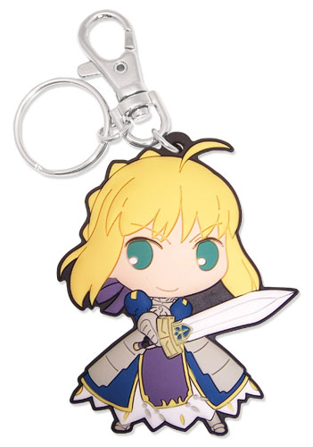 Saber Fate/stay Night Keychain 699858851591