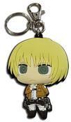 Armin Dedicate Stance Attack on Titan PVC Keychain