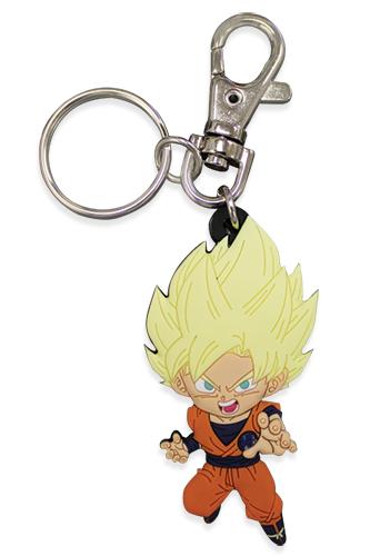 SS Goku Dragon Ball Super PVC Keychain 699858854387
