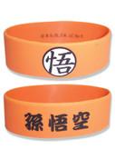 Goku's Symbol Orange Dragon Ball Z PVC Wristband