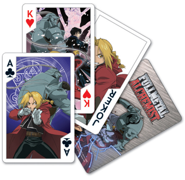 Ed & Al Fullmetal Alchemist Playing Cards