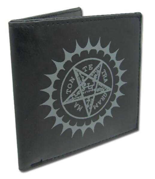 Pentacle Black Butler Bi-fold Wallet