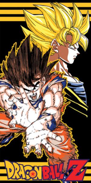Dragon Ball Z Towel: Goku