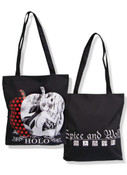 Holo in Apple Spice and Wolf Tote Bag