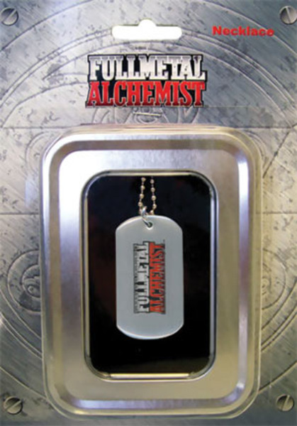 Logo Fullmetal Alchemist Dog Tag Necklace