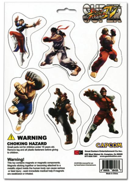 Street Fighter IV Magnet Set