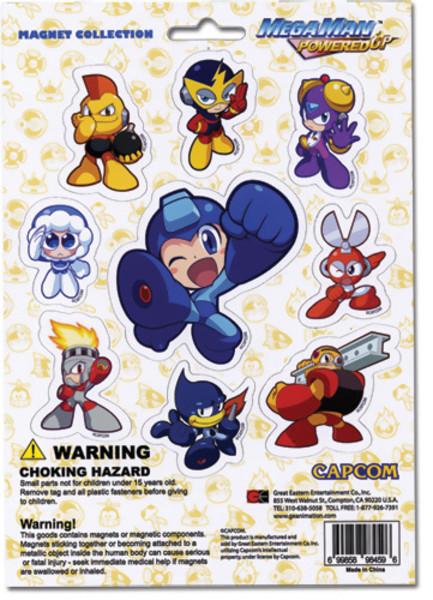 Mega Man Powered Up Magnet Set