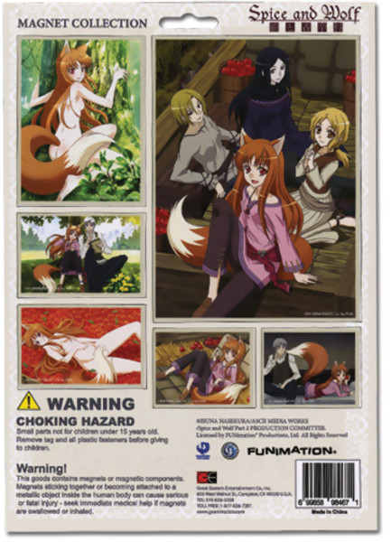 Spice and Wolf Magnet Set