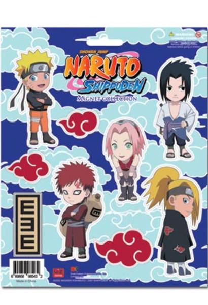 Naruto: Shippuden Magnet Set: SD Art Collection
