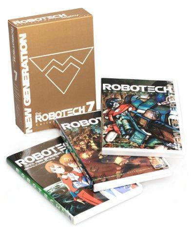 Robotech New Generation Box 2 DVD + Extras 702727013027