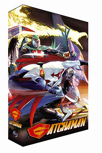 Gatchaman Collector's Edition Box 1 DVD + Bonus DVD 702727134623