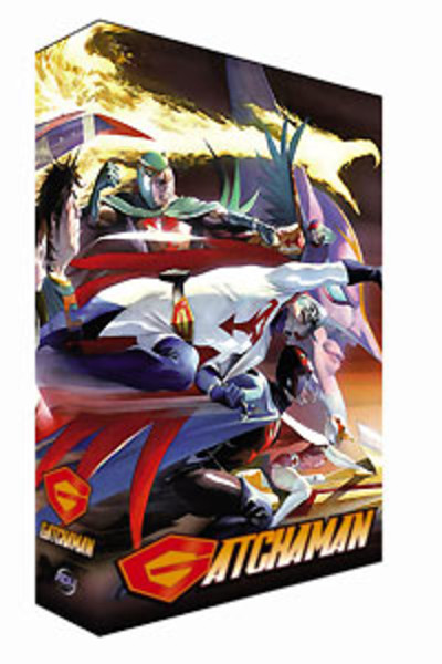 Gatchaman Collector's Edition Box 1 DVD + Bonus DVD